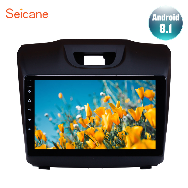 Seicane 9 inch Quad Core Android 8.1 for Chevy Chevrolet S10 2015-2018 ISUZU D-Max Car Radio GPS navigation Player Rear cameraSeicane 9 inch Quad Core Android 8.1 for Chevy Chevrolet S10 2015-2018 ISUZU D-Max Car Radio GPS navigation Player Rear camera