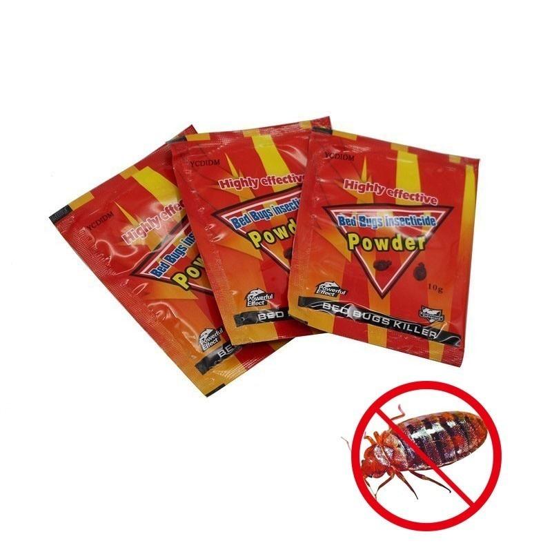 3pcs/lot High Effective Bed Bug Killer Powder Bedbug Drug Bed Bugs Insecticide Killing Fleas Lice Bait Pest Control For Home3pcs/lot High Effective Bed Bug Killer Powder Bedbug Drug Bed Bugs Insecticide Killing Fleas Lice Bait Pest Control For Home