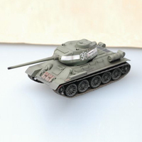 1:72 Scale Model Tank Soviet World War II T 34/85 Medium Tank Finished Product Model For Collection