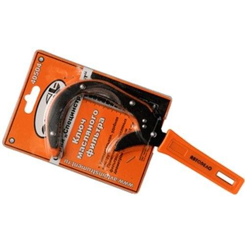 Wrench oil filter АвтоDело 40504 tightening-Sickle D = 65-110mm feibao f b 1388 10 250mm oil filter wrench silver green