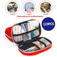 Мини Открытый аптечка сумка Портативная дорожная упаковка для лекарств аварийный набор сумки маленький медицинский Органайзер для хранен...