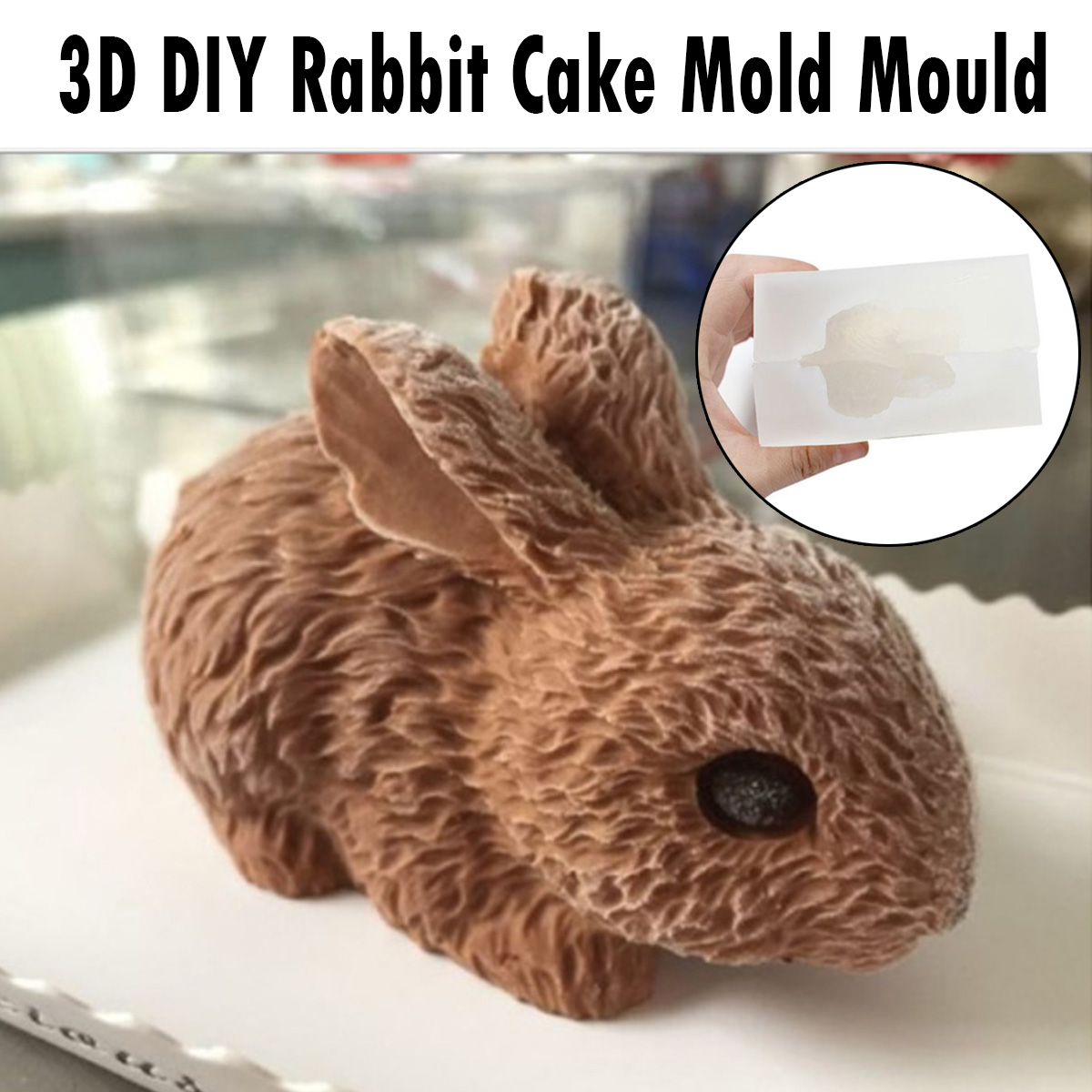3D Animal Cat Modeling Silicone Cake Mold Handmade Chocolate Gumpaste Fondant Soap Mould,Baking Tool Cake Decorating Mould,DIY Bakeware Pan Form,Aromatherapy Plaster Art Resin Clay Molds Making
