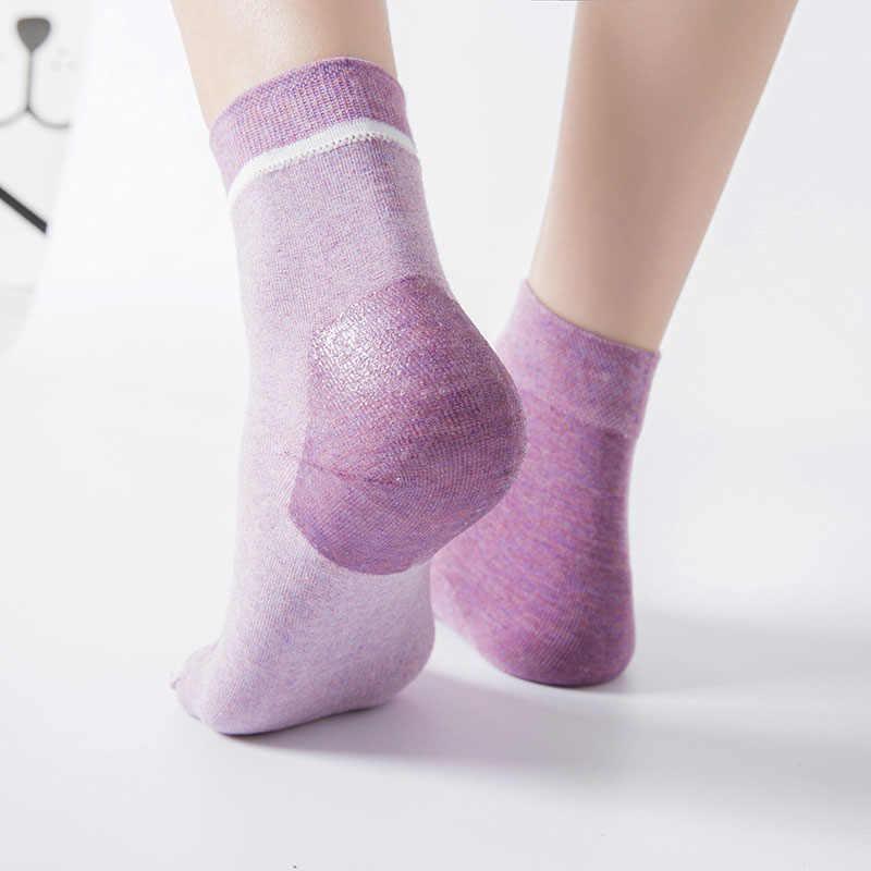 1 paar siliconen gel Hiel Sokken Hydraterende Anti Gebarsten Voet Droge Winter Skin Protector Pedicure Sokken Voetverzorging Tool TSLM2