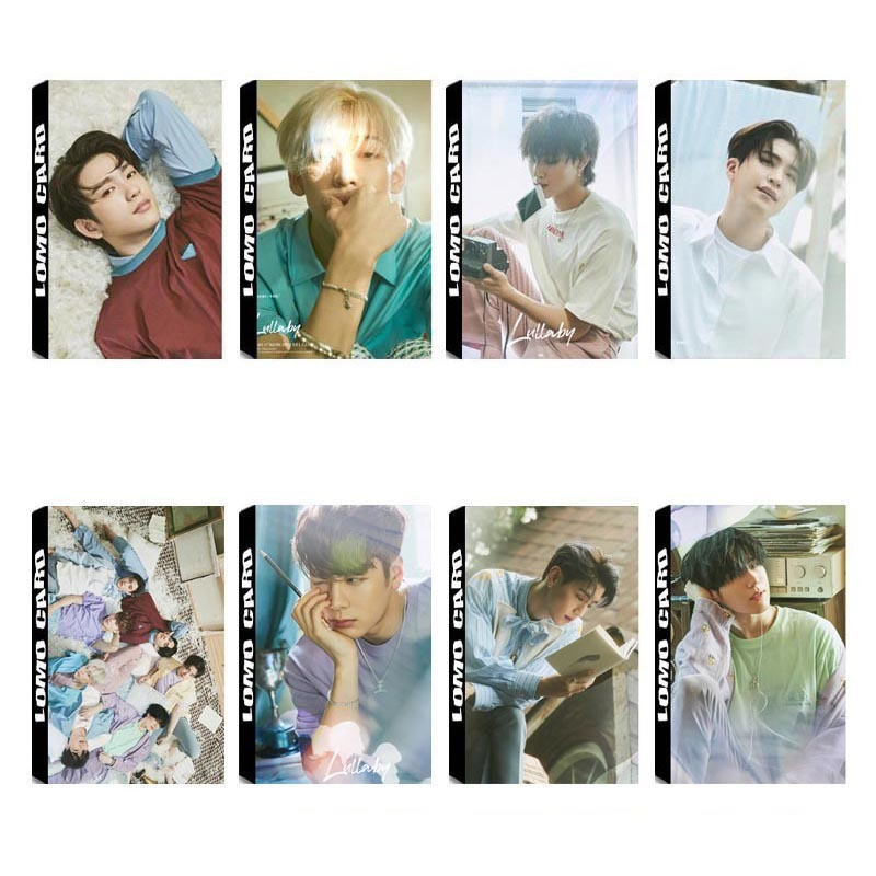Kpop Got7 7for7 Album Lomo Cards K-pop New Fashion Self Made Paper Photo Card Hd Photocard Jewelry & Accessories Beads & Jewelry Making