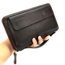 Кредитный держатель для карт, карман для монет, Portomonee, мужская сумка-клатч, кожаный кошелек для мужчин, сумка для денег, Мужской Длинный кошелек
