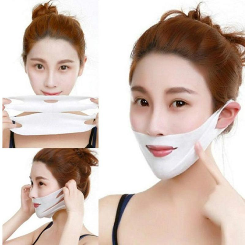 1PC 4D V-shaped Lifting Facial Mask Face Slimming Chin Lift Peel-off Mask Beauty Face Skin Care Tool dropshipping1PC 4D V-shaped Lifting Facial Mask Face Slimming Chin Lift Peel-off Mask Beauty Face Skin Care Tool dropshipping
