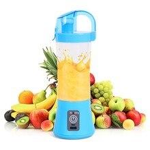 380ml Portable Blender Juicer Cup USB Rechargeable Electric Automatic Vegetable Juicer Cup Lemon Orange Maker Mixer Bottle Drop цена и фото
