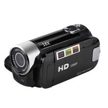 2,4 дюйма TFT Экран 16X цифровой зум DV видеокамера HD 1080 P Ручной цифровой датчик cmos камеры до 32 Гб SD
