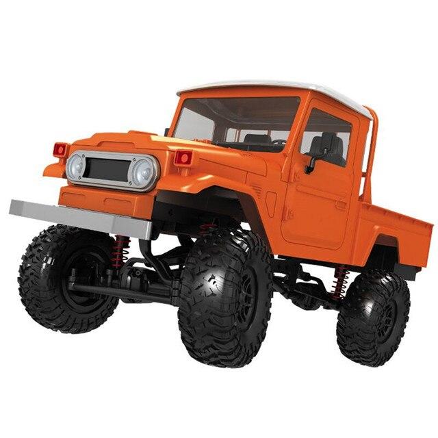MN modelo MN45 1/12 KIT de 2,4G 4WD Rc coche sin ESC batería transmisor receptor juguetes de los niños
