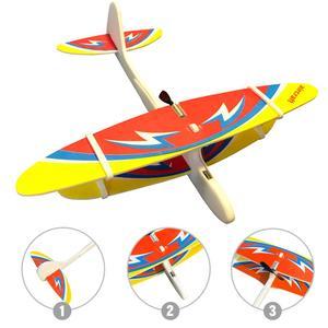 Для детей, перезаряжаемый ручной самолет, Электрический планер, пена, сделай сам, цветной летающий самолет, ручной круговой самолет