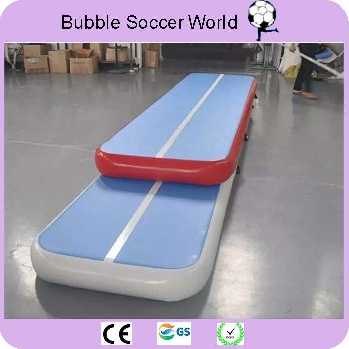 Envío Gratis Ventas de Fábrica 4*1*0,2 m de aire inflable pista Juegos Olímpicos gimnasio Mat Yugo de aire inflable de aire de uso en el hogar