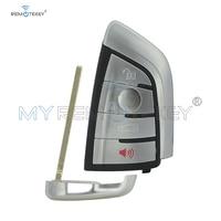 Remtekey N5F ID2A 4 Button Smart Remote Car Key 315MHZ with Insert smart key for BMW 1 2 3 4 5 6 7 Series X3 X4 X5 X6 3248A ID2A