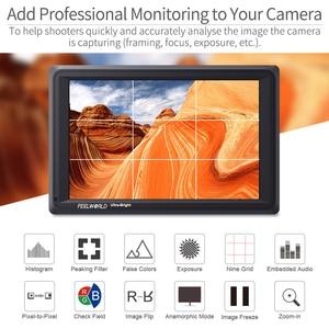 Image 4 - Feelworld FW279S 7 inch 3G SDI 4K HDMI DSLR Camera Field Monitor Ultra Bright 2200nit Full HD 1920x1200 LCD IPS for Outdoors