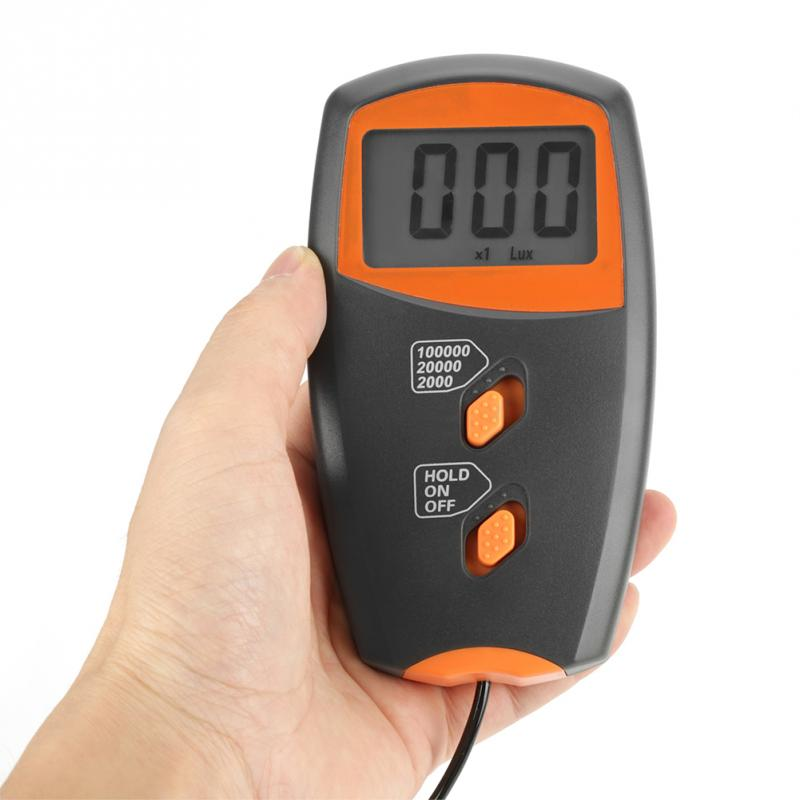 Illumination Tester LX1010B Digital Luxmeter LCD Display Light Meter Environmental Testing Illuminometer Electric Testing Illuminometer