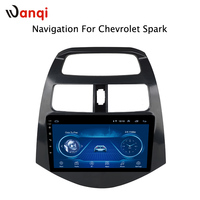 Free Shipping Factory direct sale android 8.1 Car DVD GPS Navigation Player Stereo For CHEVROLET Spark 2010 2011 2012 2014 year