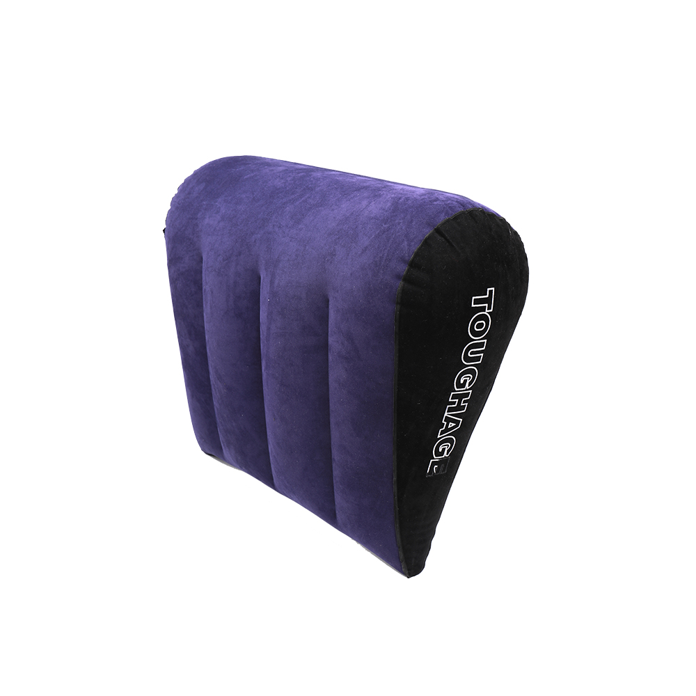 <font><b>Sex</b></font> Furniture Body Support Pads Back Cushion <font><b>Air</b></font> Blow Adult Games Inflatable <font><b>Pillow</b></font> Use With Vibrator For Couples PVC Flocking image