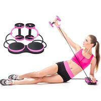 Ab Roller Wheel Abdominal Trainer Wheel Arm Waist Leg Exercise Abdominal Resistance Pull Rope Tool Fitness Equipment Exercise