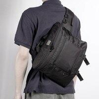 New Group Cross Body Shoulder Bag can fit 13 inch laptop Canvas Strap Sling Men Messenger Bag Chest Pack Mens Chest Bags