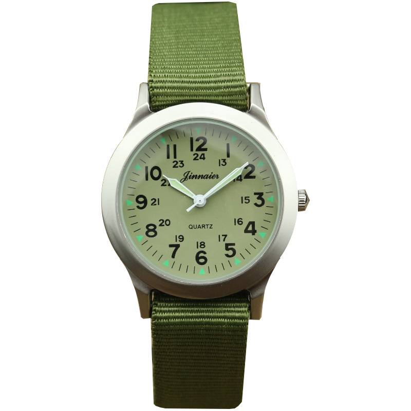 Middle And Little Children Army Watch Boys And Girls Cute Luminous Pointer High Quality Outdoor Sports Xmas Birthday Gift Clock