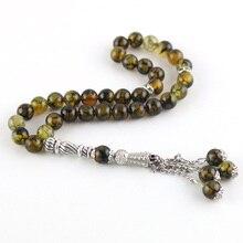 Оригинальные 33 бусины 8 мм, натуральный камень, мусульманские четки, ислам, Tasby, Молитвенные Четки, Tesbih, Islam ic браслет