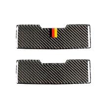 สำหรับ Mercedes Benz C Class W205 C180 C200 C300 GLC260 คาร์บอนไฟเบอร์รถอ่านไฟแว่นตากันแดดกล่อง