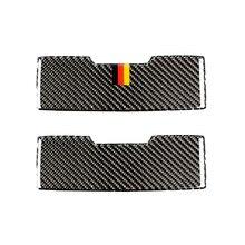 Para Mercedes Benz clase C W205 C180 C200 C300 GLC260 fibra de carbono coche luz de lectura delantera Panel gafas de sol caja cubierta