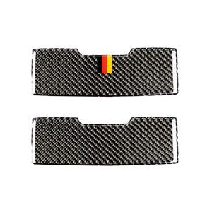 Image 1 - Per Mercedes Benz Classe C W205 C180 C200 C300 GLC260 Auto In Fibra di Carbonio Luce di Lettura Anteriore Pannello Occhiali Da Sole Coperchio Della Scatola