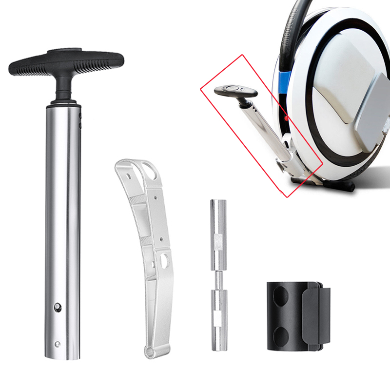Electric Unicycle Parts Trolley Handle Parking Stand For Ninebot One Model C / C+ / E / E+ Balance Electric Scooter Accessories
