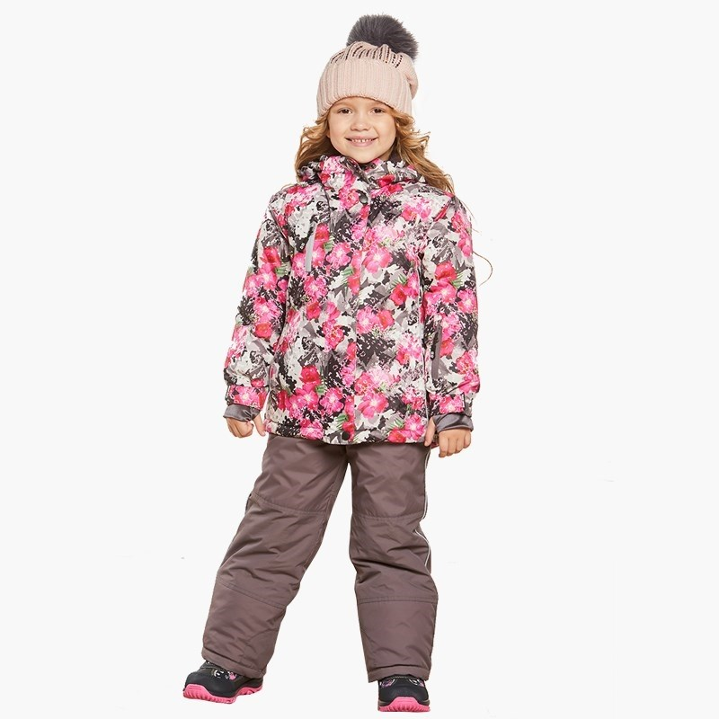 Children's Sets Sweet Berry Sewing set for girls: jacket, semi-Overalls children clothing bionic camouflage hunting clothing 4pcs set jacket pant gloves cap suspenders suitable for spring autumn winter hunting suits