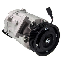 Auto AC A/C Compressor 6PK 110mm 12V 6SEU14C For Audi A4/A6 2.4 V6 2004 2009 8E0260805AT 8E0260805BJ
