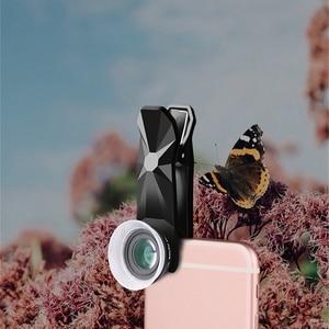 Image 4 - Pholes 2 In 1 Universal 12 24X Macro Photography Lens For J5 2017 J7 2017 A7 2017 J5 Prime Mobile Phone Camera Lens
