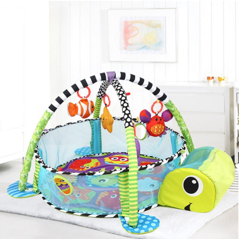 3 en 1 bébé tapis de jeu enfants tapis éducatif Puzzle tapis avec clavier de Piano mignon Animal tapis de jeu bébé Gym ramper tapis d'activité - 5