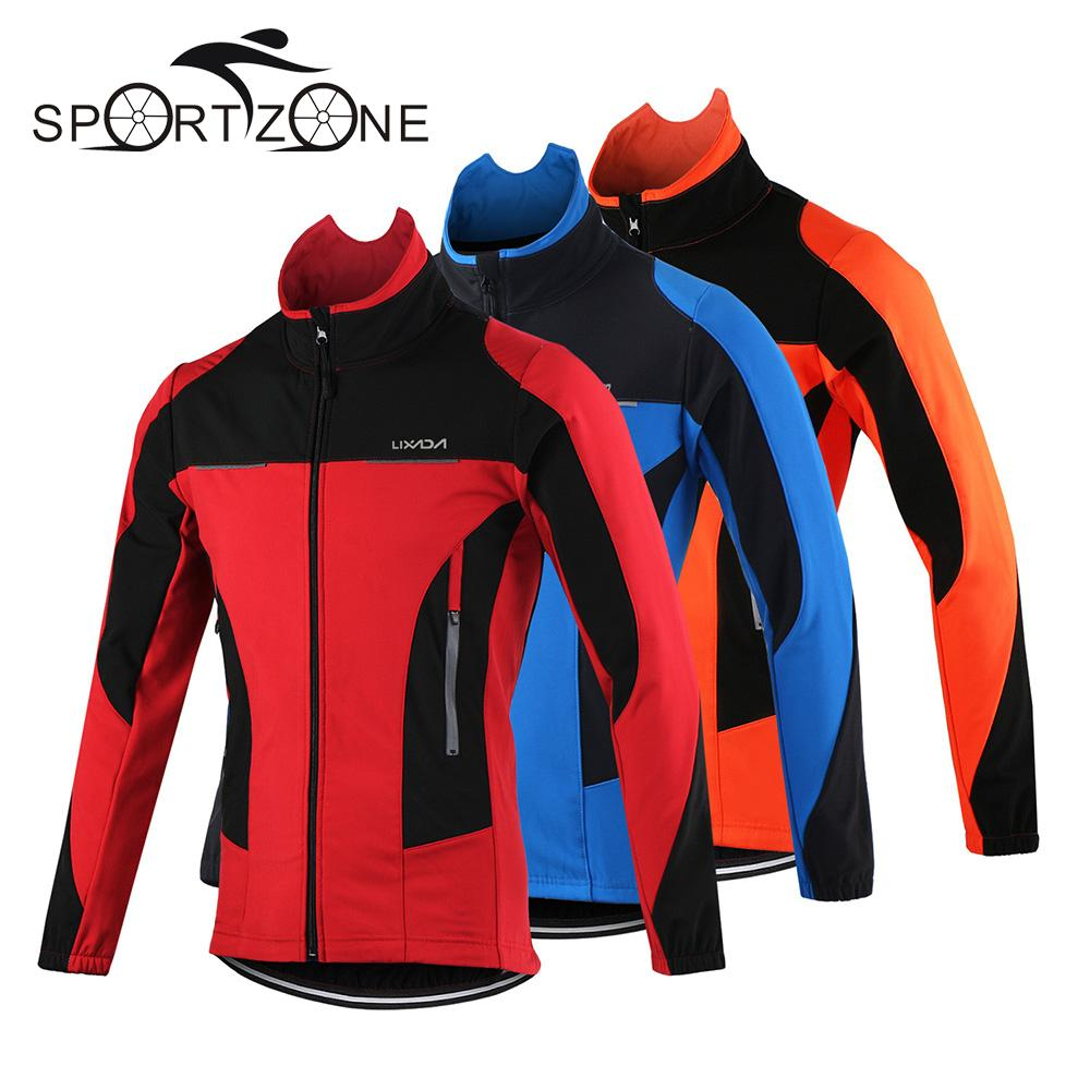 Lixada Men's Outdoor Cycling Jacket Winter Thermal Breathable Comfortable Long Sleeve Coat Water Resistant Riding Sportswear-in Cycling Jackets from Sports & Entertainment on AliExpress - 11.11_Double 11_Singles' Day 1