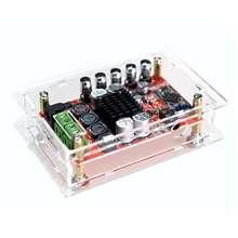 Aux Tda7492P 50W + 50W sans fil Bluetooth 4.0 Audio amplificateur numérique + étui Us