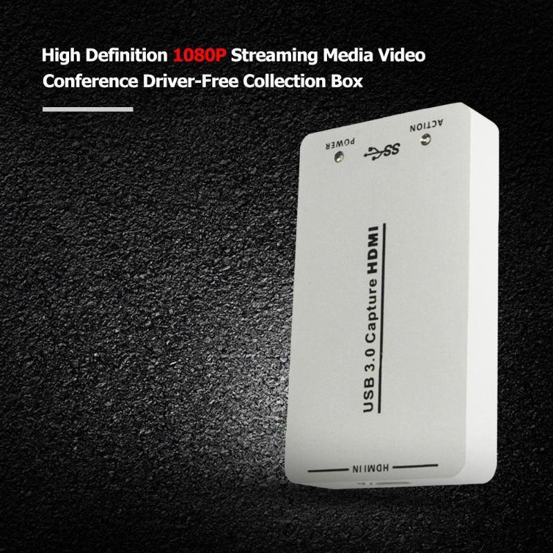 HDMI a USB3.0 di Acquisizione Video Dongle 1080 P HD Scheda di Acquisizione Video Adattatore Box