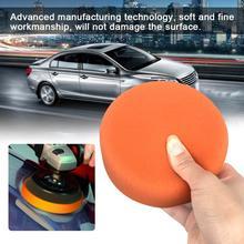 Автомобильный полировальный диск для воска диск губка шар полировка колеса краска поверхность восковая машина полировальная машина аксессуары