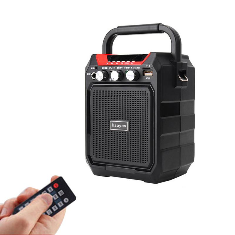 K99 Portable Bluetooth Speaker Wireless 3D Sound System Stereo Music Subwoofer Support AUX FM TF Microphone