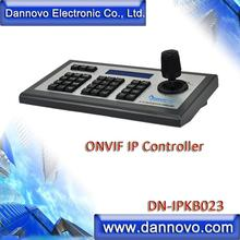 DANNOVO Network Keyboard Control, IP Keyboard Controller, PTZ Joystick for ONVIF IP Cameras 4d ptz keyboard cwh jp4kd dvr and ptz camera joystick support many protocol and baudrate very easy for use