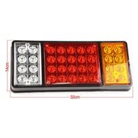 2pk Car 36 LED Taillight Indicator Reverse Lamps Light For Trailer Truck Caravan