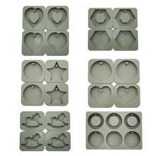 DIY воск для ароматерапии силиконовые формы мыло цветок Свеча Плесень глина DIY ремесла подарки украшения воск форма для мыла свеч
