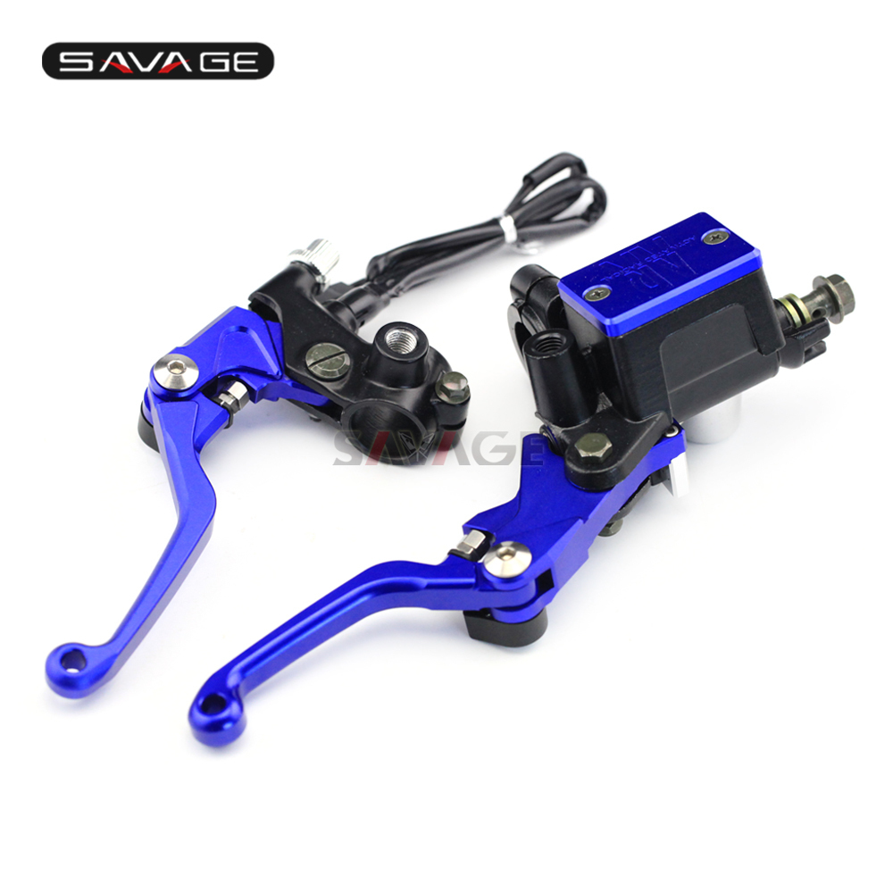 Kit de maître-cylindre de frein d'embrayage levier de réservoir pour YAMAHA XT 225/250 SEROW XT250 XTZ250 TW200 TW225E accessoires moto