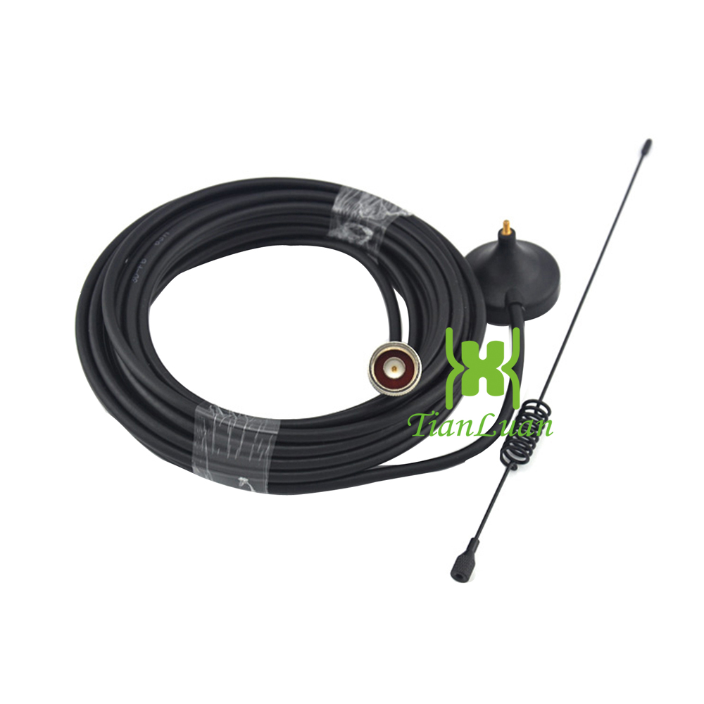 Image 5 - TianLuan Kit 4G LTE Mobile Signal Booster Repeater 1800Mhz  Cellphone Cellular DCS 1800 Cell Phone LCD Display   Sucker  AntennaSignal Boosters