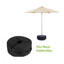 خيمة الثابتة الرمل فارغة مستديرة الباحة مظلة من الشمس الوقوف الجاذبية قاعدة حقيبة خيمة اكسسوارات للتخييم في الهواء الطلق شاطئ الطرف