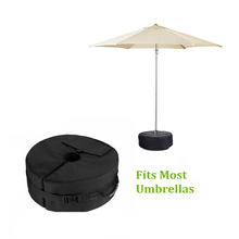 Tent Fixed Sandbag Empty Round Patio Sunshade Umbrella Stand Gravity Base Bag Tent Accessories For Outdoor Camping Beach Party