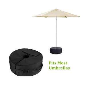 Image 1 - Tent Fixed Sandbag Empty Round Patio Sunshade Umbrella Stand Gravity Base Bag Tent Accessories For Outdoor Camping Beach Party