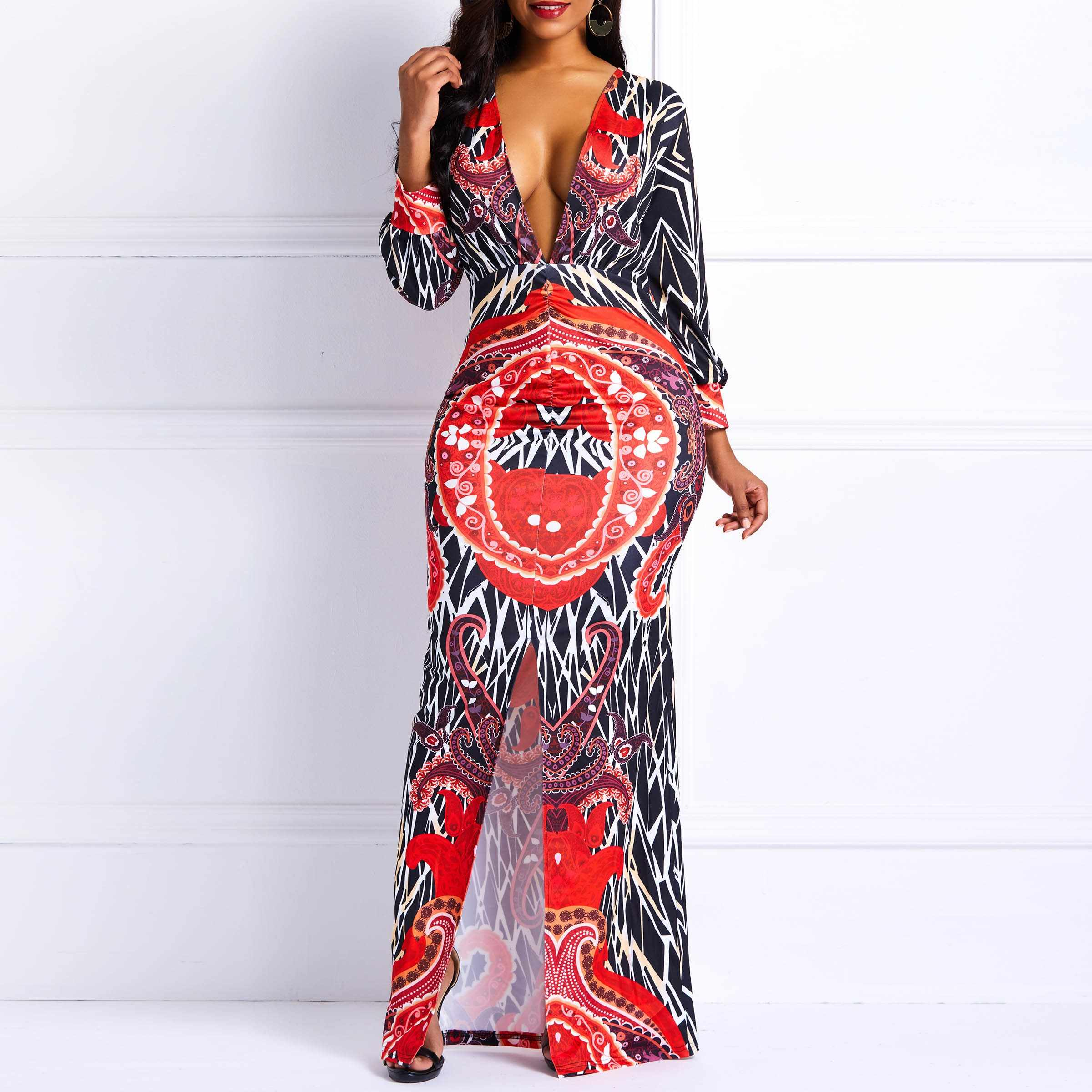99c259afc5550 Detail Feedback Questions about Clocolor African Dress Plus Size ...