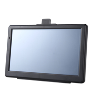 7 Inch 8GB 800MHZ Touchscreen Car Sat Nav GPS Navigation For Car Includes the European Maps