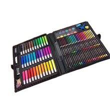 4a12197b7282 150 unids/set lápiz de Color de agua los estudiantes del cepillo de pintura  de los niños de dibujo lápiz aceite Pastel dibujo he.