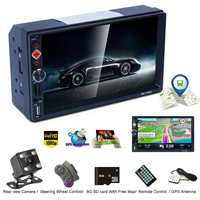 High Quality 7 Touchs Screen Car Stereo MP5 Player for Android for IOS bluetooth WIFI GPS Navigator Auto FM Radio