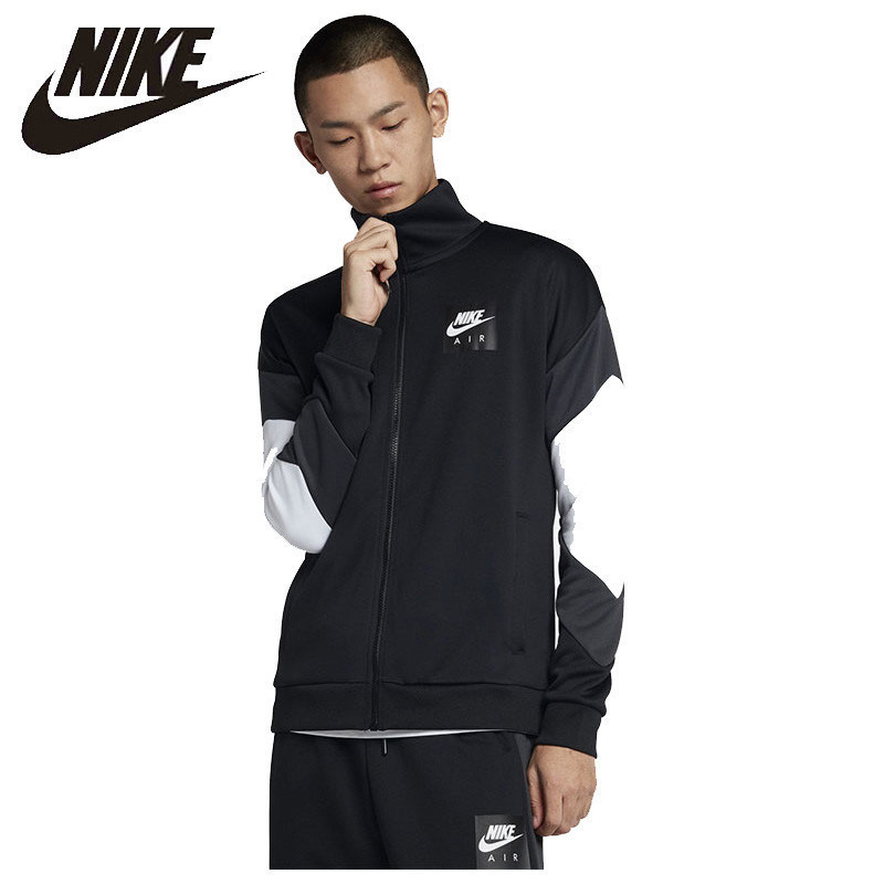 Nike Official Nike Air New Arrival  Men Jacket Outdoor Running Comfortable Sportswear Traininig Clothes#AJ5322-010